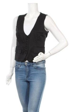 Дамски елек Vero Moda, Размер M, Цвят Черен, 98% памук, 2% еластан, Цена 5,78лв.