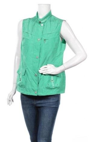 Дамски елек Walbusch, Размер M, Цвят Зелен, 62% полиестер, 38% полиамид, Цена 27,41лв.
