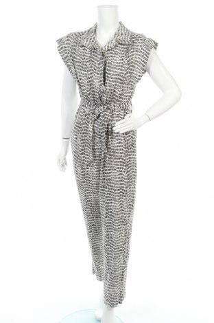 Γυναικεία σαλοπέτα Massimo Dutti, Μέγεθος M, Χρώμα Λευκό, 67% βισκόζη, 33% λινό, Τιμή 40,98€