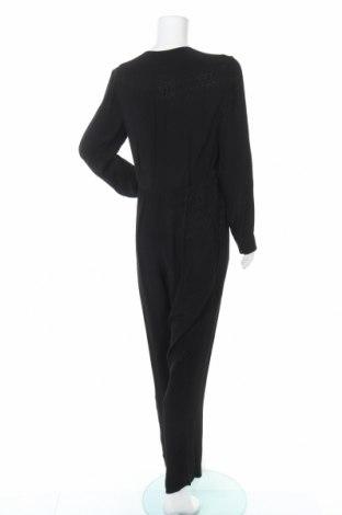 Дамски гащеризон Massimo Dutti, Размер L, Цвят Черен, Вискоза, Цена 31,29лв.