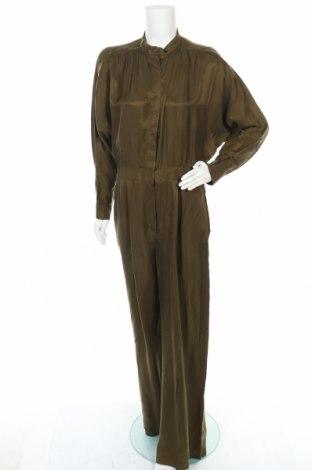 Γυναικεία σαλοπέτα Massimo Dutti, Μέγεθος L, Χρώμα Πράσινο, 100% χαλκαμμωνία, Τιμή 28,72€