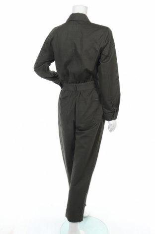 Γυναικεία σαλοπέτα Massimo Dutti, Μέγεθος L, Χρώμα Πράσινο, 74% βαμβάκι, 26% λινό, Τιμή 38,40€