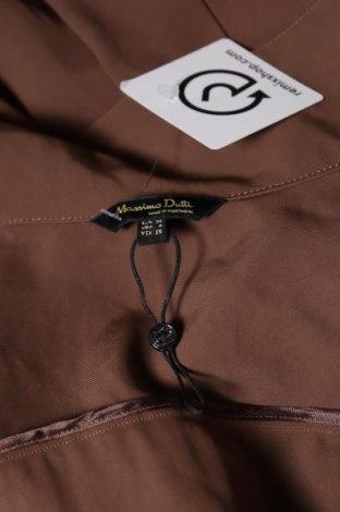 Дамски гащеризон Massimo Dutti, Размер S, Цвят Кафяв, Ацетат, Цена 39,42лв.