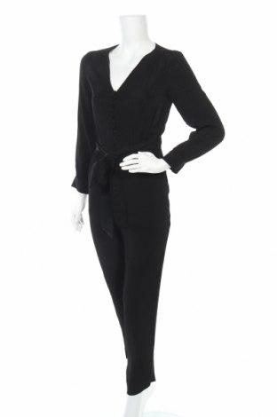 Γυναικεία σαλοπέτα Massimo Dutti, Μέγεθος XS, Χρώμα Μαύρο, 100% βισκόζη, Τιμή 21,50€