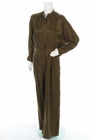 Γυναικεία σαλοπέτα Massimo Dutti, Μέγεθος M, Χρώμα Πράσινο, 100% χαλκαμμωνία, Τιμή 28,72€