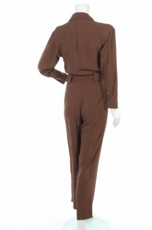 Γυναικεία σαλοπέτα Massimo Dutti, Μέγεθος XS, Χρώμα Καφέ, Ασετάτ, Τιμή 25,96€