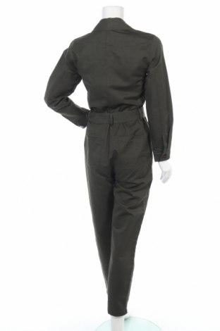 Γυναικεία σαλοπέτα Massimo Dutti, Μέγεθος S, Χρώμα Πράσινο, 74% βαμβάκι, 26% λινό, Τιμή 38,40€