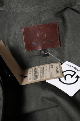 Γυναικεία σαλοπέτα Massimo Dutti, Μέγεθος S, Χρώμα Πράσινο, 74% βαμβάκι, 26% λινό, Τιμή 44,54€