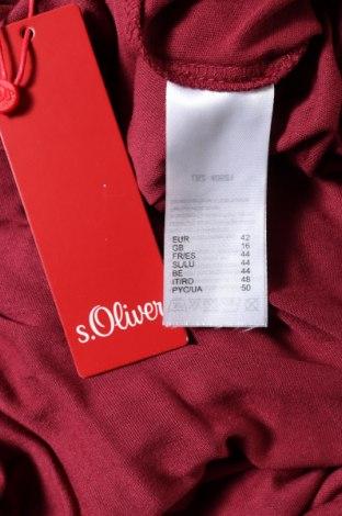 Дамски гащеризон S.Oliver, Размер L, Цвят Червен, Вискоза, Цена 35,60лв.