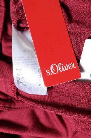 Дамски гащеризон S.Oliver, Размер S, Цвят Червен, Вискоза, Цена 35,60лв.