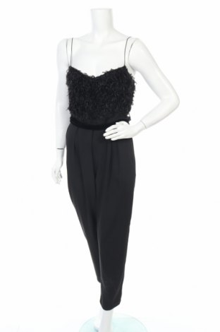 Дамски гащеризон Zara, Размер M, Цвят Черен, Полиестер, Цена 20,47лв.