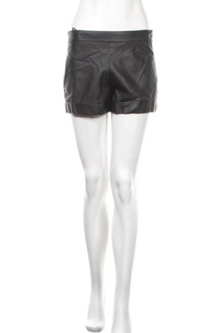 Дамски къс кожен панталон French Connection, Размер S, Цвят Черен, Еко кожа, Цена 11,03лв.