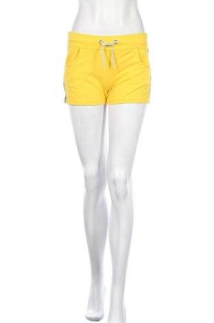 Γυναικείο κοντό παντελόνι, Μέγεθος S, Χρώμα Κίτρινο, 95% βαμβάκι, 5% ελαστάνη, Τιμή 3,64€