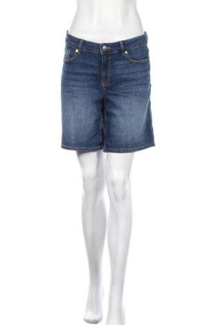 Γυναικείο κοντό παντελόνι, Μέγεθος M, Χρώμα Μπλέ, Βαμβάκι, ελαστάνη, Τιμή 4,09€
