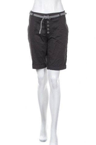 Γυναικείο κοντό παντελόνι Amisu, Μέγεθος M, Χρώμα Γκρί, 98% βαμβάκι, 2% ελαστάνη, Τιμή 4,32€