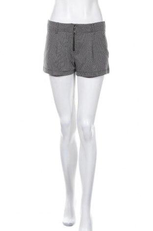 Γυναικείο κοντό παντελόνι Ana Sousa, Μέγεθος S, Χρώμα Μαύρο, Βαμβάκι, πολυεστέρας, δερματίνη, Τιμή 8,87€