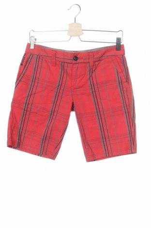 Γυναικείο κοντό παντελόνι Burton, Μέγεθος XS, Χρώμα Κόκκινο, Βαμβάκι, Τιμή 7,50€