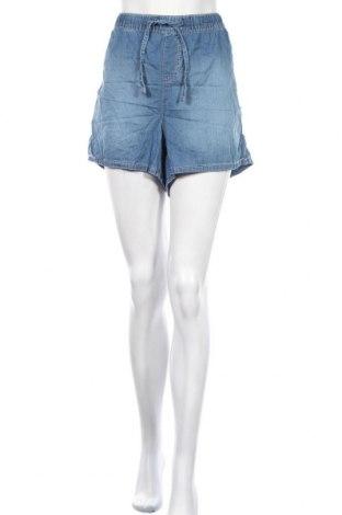 Γυναικείο κοντό παντελόνι C&A, Μέγεθος XXL, Χρώμα Μπλέ, Βαμβάκι, Τιμή 11,04€