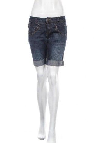Γυναικείο κοντό παντελόνι Clockhouse, Μέγεθος S, Χρώμα Μπλέ, 74% βαμβάκι, 24% πολυεστέρας, 2% ελαστάνη, Τιμή 5,23€