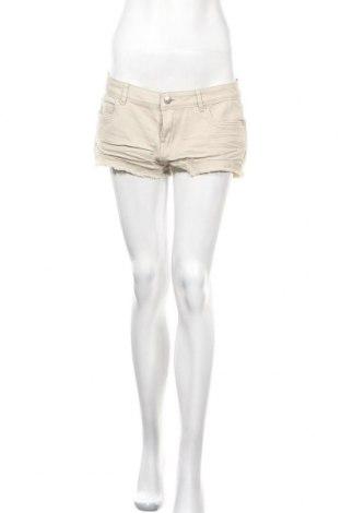 Γυναικείο κοντό παντελόνι Denim Co, Μέγεθος M, Χρώμα  Μπέζ, 99% πολυεστέρας, 1% ελαστάνη, Τιμή 5,23€