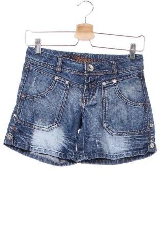 Дамски къс панталон Fishbone, Размер XS, Цвят Син, Цена 17,64лв.