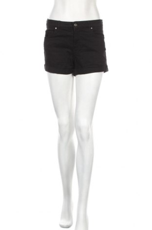 Γυναικείο κοντό παντελόνι H&M, Μέγεθος S, Χρώμα Μαύρο, 98% βαμβάκι, 2% ελαστάνη, Τιμή 10,13€