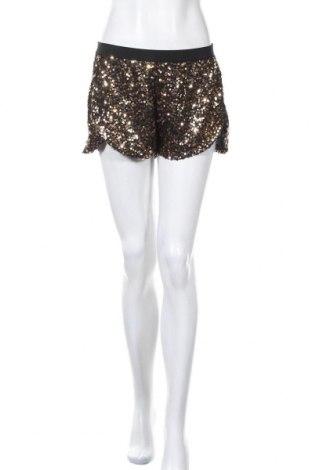 Γυναικείο κοντό παντελόνι H&M, Μέγεθος S, Χρώμα Χρυσαφί, Βισκόζη, Τιμή 10,93€