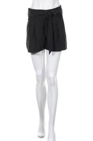 Γυναικείο κοντό παντελόνι H&M Divided, Μέγεθος S, Χρώμα Μαύρο, 70% μοντάλ, 30% πολυεστέρας, Τιμή 20,19€