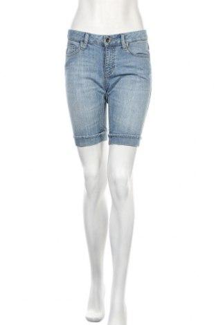 Γυναικείο κοντό παντελόνι Tom Tailor, Μέγεθος S, Χρώμα Μπλέ, 88% βαμβάκι, 11% πολυεστέρας, 1% ελαστάνη, Τιμή 12,62€