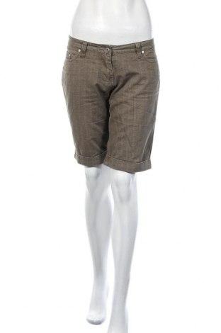 Дамски къс панталон X-Mail, Размер M, Цвят Зелен, Памук, Цена 4,73лв.