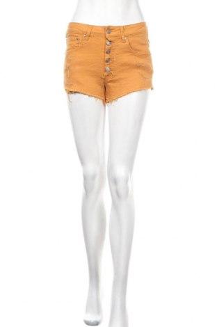 Γυναικείο κοντό παντελόνι Yes Or No, Μέγεθος XS, Χρώμα Πορτοκαλί, 98% βαμβάκι, 2% ελαστάνη, Τιμή 10,72€