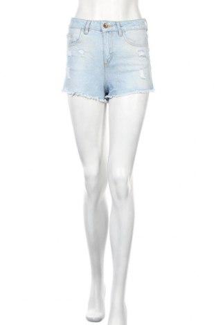 Γυναικείο κοντό παντελόνι Zara, Μέγεθος S, Χρώμα Μπλέ, Βαμβάκι, Τιμή 15,20€