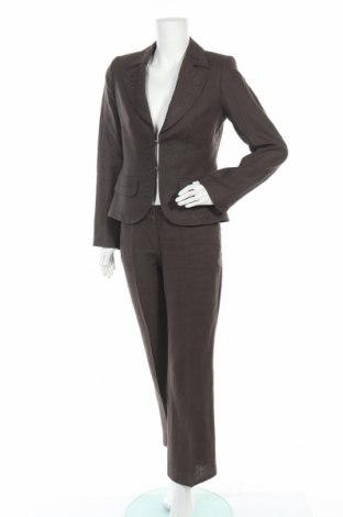 Γυναικείο κοστούμι Bandolera, Μέγεθος M, Χρώμα Καφέ, Λινό, Τιμή 30,29€