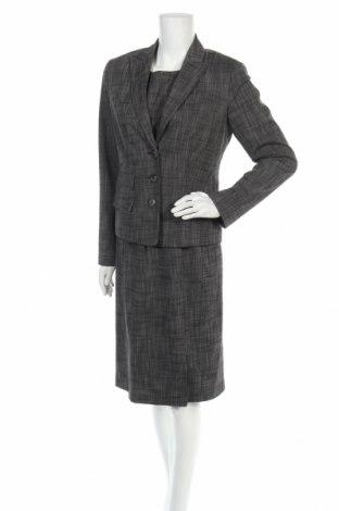 Дамски костюм Jones, Размер M, Цвят Сив, 65% полиестер, 32% вискоза, 3% еластан, Цена 64,68лв.