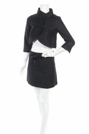 Дамски костюм Max&Co., Размер XS, Цвят Черен, 82% памук, 18% полиамид, Цена 85,84лв.
