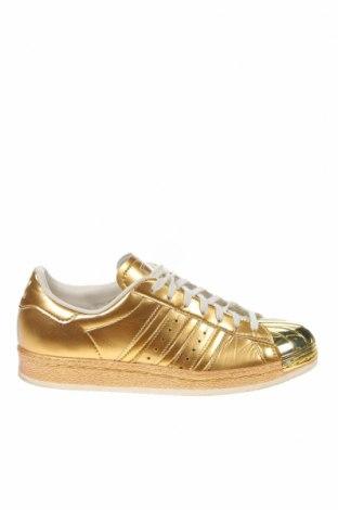 Дамски обувки Adidas Originals, Размер 36, Цвят Златист, Еко кожа, Цена 68,25лв.
