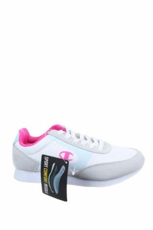 Дамски обувки Champion, Размер 37, Цвят Бял, Естествена кожа, текстил, Цена 55,47лв.