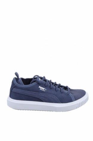 Дамски обувки PUMA, Размер 35, Цвят Син, Естествен велур, текстил, Цена 49,01лв.