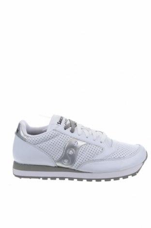 Γυναικεία παπούτσια Saucony, Μέγεθος 42, Χρώμα Λευκό, Γνήσιο δέρμα, Τιμή 33,97€