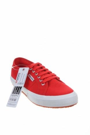 Обувки Superga, Размер 41, Цвят Червен, Текстил, Цена 91,56лв.