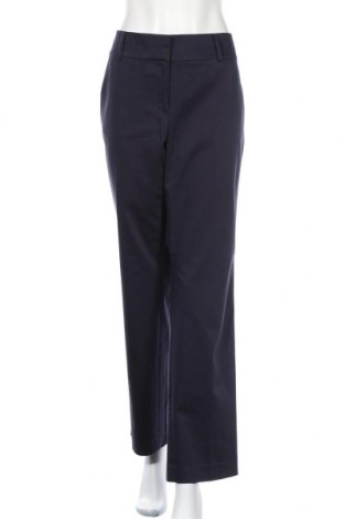 Дамски панталон Ann Taylor, Размер XL, Цвят Син, 73% памук, 23% полиестер, 4% еластан, Цена 12,34лв.