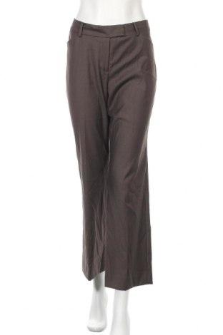 Дамски панталон Anne Klein, Размер M, Цвят Кафяв, 65% полиестер, 35% вискоза, Цена 8,93лв.