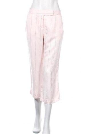 Γυναικείο παντελόνι Capasca, Μέγεθος S, Χρώμα Ρόζ , 33% λινό, 66% βισκόζη, 1% πολυεστέρας, Τιμή 6,59€