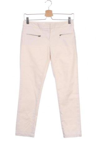 Дамски панталон Club Monaco, Размер XS, Цвят Бежов, 65% памук, 30% вискоза, 5% еластан, Цена 12,06лв.
