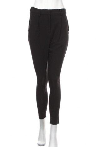 Дамски панталон Decjuba, Размер S, Цвят Черен, 63% полиестер, 33% вискоза, 4% еластан, Цена 11,55лв.