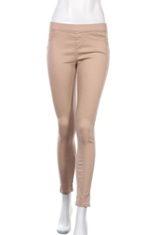 Дамски панталон Denim&Co., Размер M, Цвят Кафяв, 72% памук, 26% полиестер, 2% еластан, Цена 13,86лв.