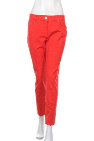 Дамски панталон Escada, Размер M, Цвят Червен, 95% памук, 5% еластан, Цена 98,42лв.