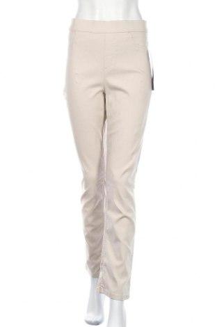 Дамски панталон Gloria Vanderbilt, Размер L, Цвят Бежов, 76% вискоза, 21% полиамид, 3% еластан, Цена 33,60лв.