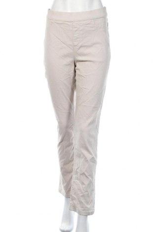 Дамски панталон Gloria Vanderbilt, Размер L, Цвят Бежов, 76% вискоза, 21% полиамид, 3% еластан, Цена 24,94лв.