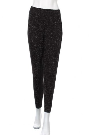 Дамски панталон H&M, Размер S, Цвят Черен, Вискоза, Цена 17,64лв.
